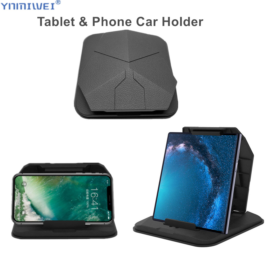 Phone Car Holder On Dashboard 4.0 to 8 inch Tablet Holders in for iPhone XR XS MAX  iPad Mini GPS