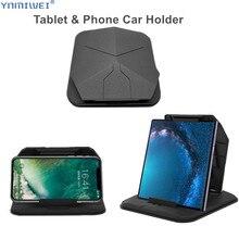 Suporte de telefone para carro, suporte de painel de 4.0 a 8 polegadas para telefone e tablet para o iphone xr xs max ipad mini suporte gps para celular, suporte para telefone para carro e gps