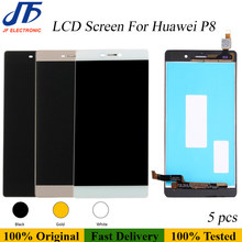 5 stücke Original LCD für Huawei P8/P8 lite/P8 P9 lite 2017/P9 lite LCD Display touchscreen Digitizer Montage Ersatz(China)