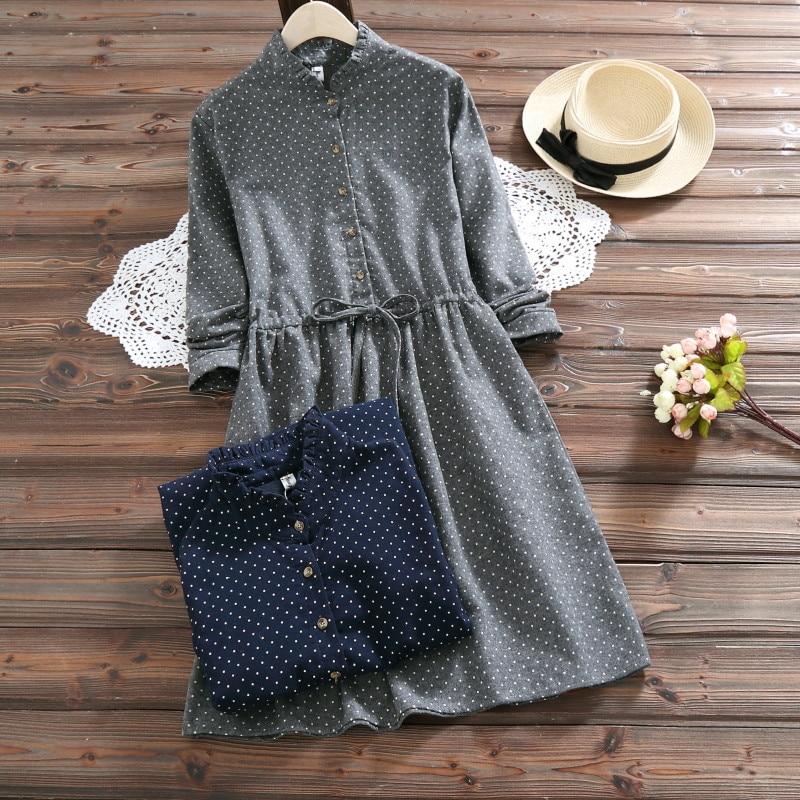 Women Causal polka dot Dress Women's Dresses