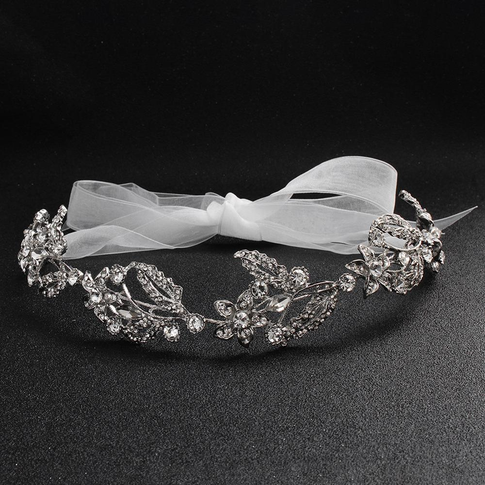 Bridal Wedding Headdress Tiaras Noble Transparent Crystal Hair Ornament Fashion New Bridal Headband TS70