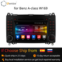 Ownice 4g sim lte android6.0 8 núcleo 32g rom carro dvd gps navi para mercedes a-classe w169 sprinter w209 crafter viano vito lt3 w245