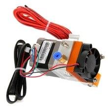 3D Drucker Extruder, Geeignet für 0,4mm Düse, 1,75mm Verbrauchs Metall Extrusion Kopf, MK8 Extruder