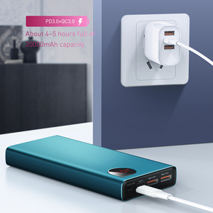 Image 2 - Baseus 20000mAh Power Bank 22.5W PD 4.0 3.0 Fast Charging SCP Type C Powerbank External Battery Portable Quick Charger for Phone