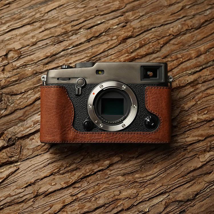 MrStone Fuji X-PRO3 Protective Case Leather Case Xpro3 Leather Camera Case