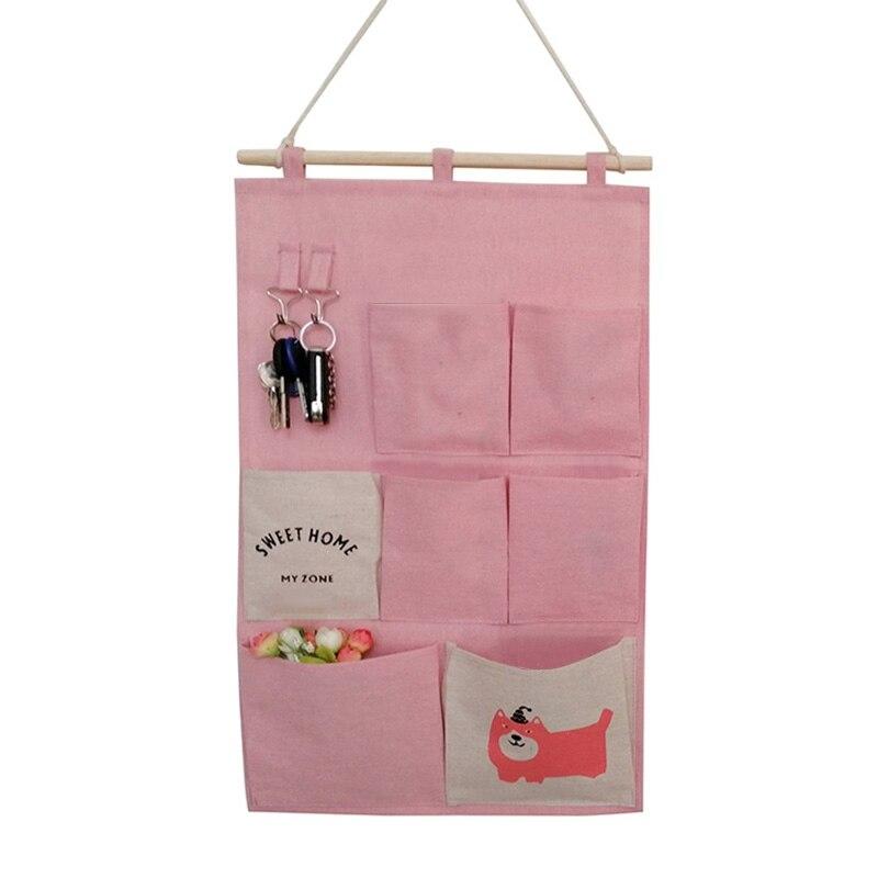 Carttoon настенная подвесная сумка для хранения в скандинавском стиле, органайзер для детской кроватки, декор для детской комнаты, детская игрушка, сумка для хранения подгузников, Домашний Органайзер - Цвет: 10