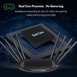 Image 2 - AC3000 MU MIMO trójpasmowy bezprzewodowy Router Wi Fi 2.4G + 5Ghz z Touchlink Gigabit Wan/Lan Smart Wi Fi Repeater/punkt dostępu USB 3.0