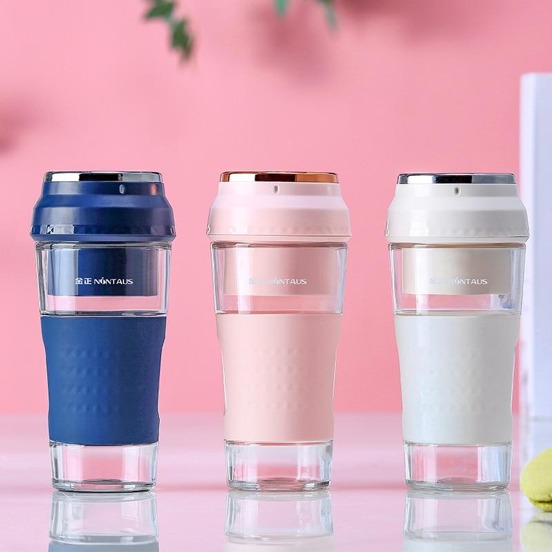 Rechargeabel Juicer Cup Mini Portable 300ML Fresh Fruit Juice Maker Food Blender Handhold Mixer|Juicers| |  - title=
