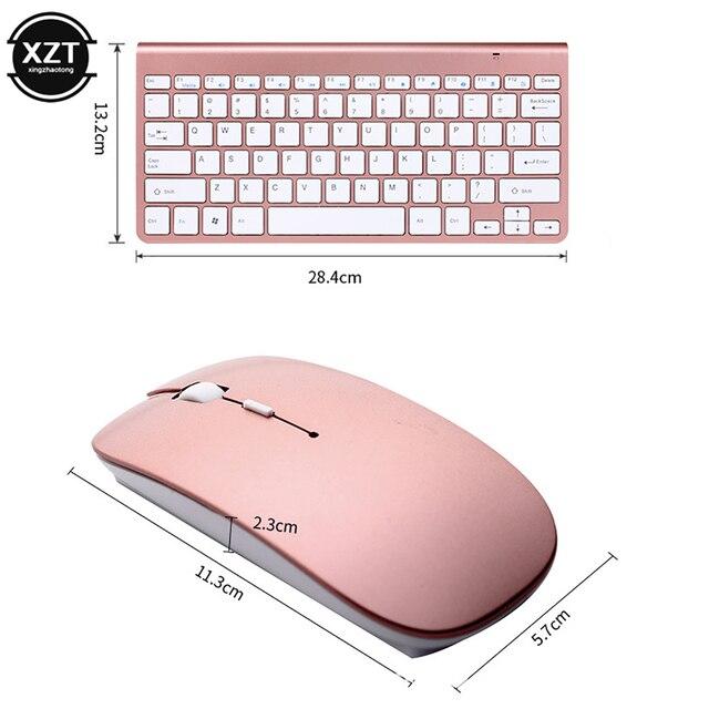 Купить 24g беспроводная клавиатура и мышь мини мультимедийная набор