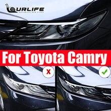 Автомобильные товары из ТПУ черная пленка для фар Защитная Наклейка