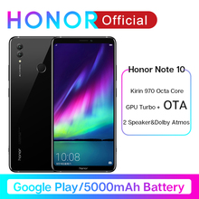 Google Play Honor Note 10 Smartphone 6.95'' Kirin 970 Octa core 24MP+16MP Cameras 5000mAh M