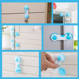 Cabinet-Lock Security-Protector Drawer Baby-Care Plastic Safety Lockcupboard Child
