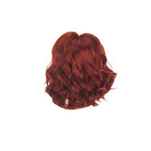 купить Sexy Women Natural Casual Party Short Wavy Costume Wig Brown Cosplay Synthetic Curly Wigs Grip Band дешево
