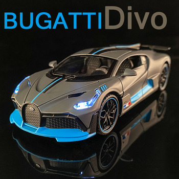 1:32 BUGATTI Divo Die Cast Alloy Car Model Collectibles Boy Birthday Present Children's Toy Car Free Shipping