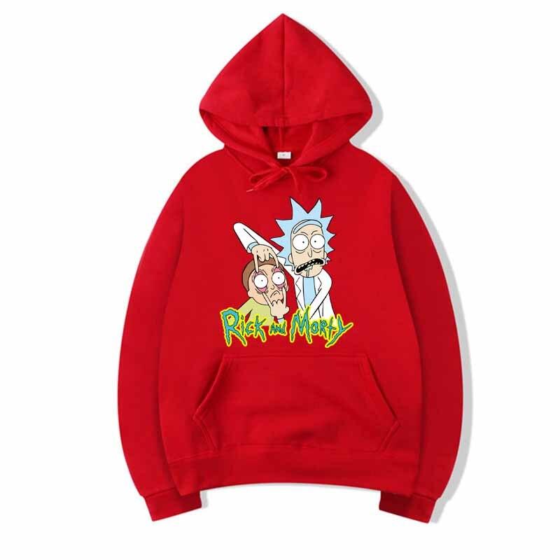 2019 Rick And Morty Hoodie Anime Comics Unisex Wool Men's Hoodie Sweatshirt Brand Casual Sportswear DropShip Streetwear