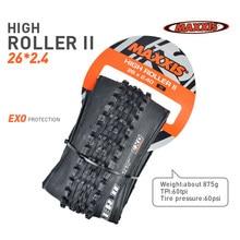 1pc maxxis 26 high roller bicicleta pneu exo proteção dobrável pneu 26*2.4 27.5*2.4 26er 27.5er mtb pneus de montanha