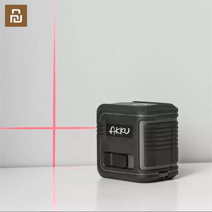 Image 1 - Youpin akku レーザーレベル自己レベリング 360 水平垂直クロススーパー強力な赤色赤外線レーザー用