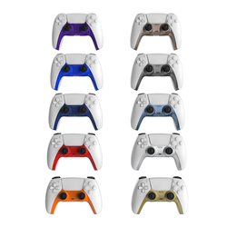 Gamepad Cover for Sony PS5 Front Middle Controller Replacement Decorative Shell for Sony Playstation5 Joypad Games Accessories