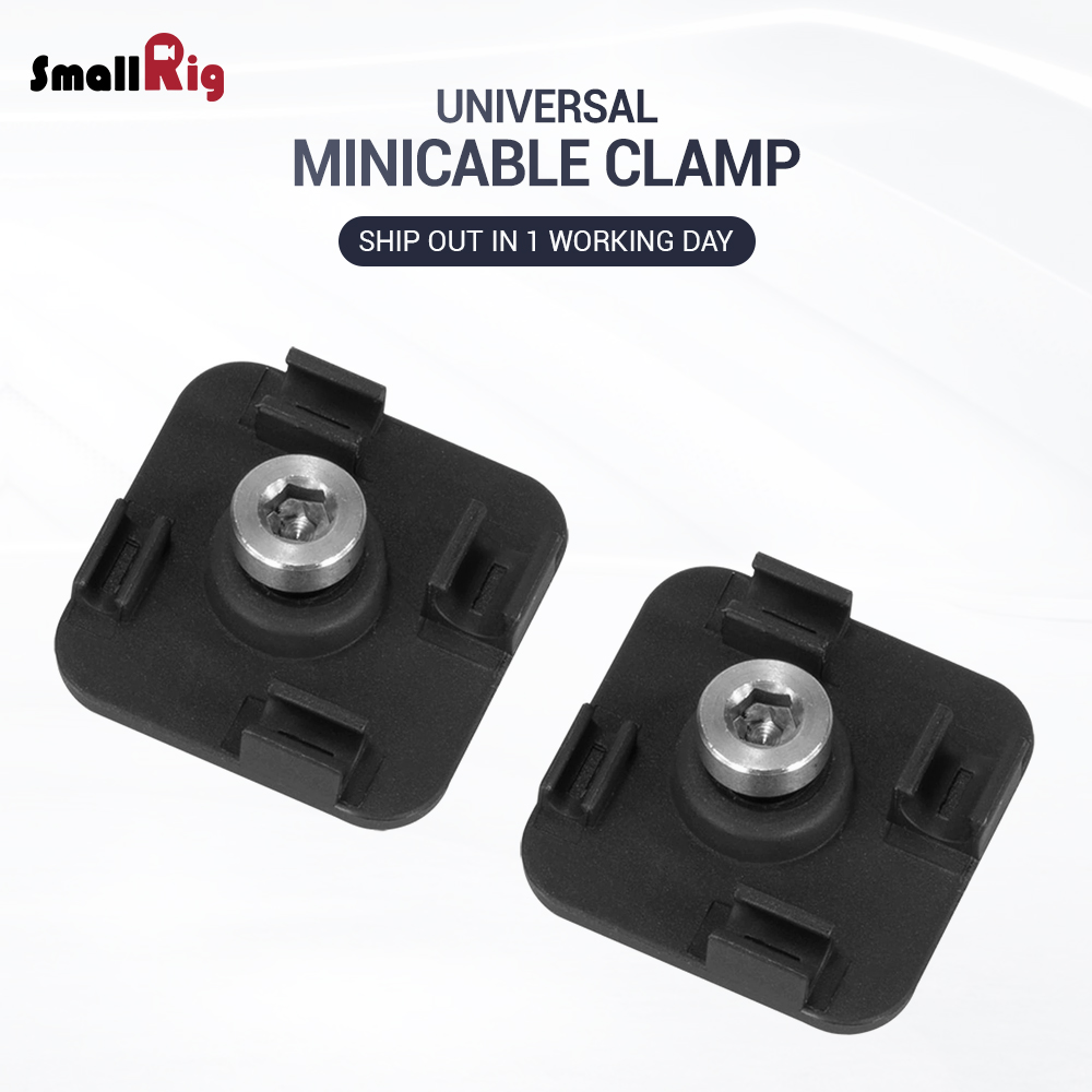 SmallRig DSLR Camera Rig Mini Cable Clamp For Tethering Cables (2 Pcs) 2335