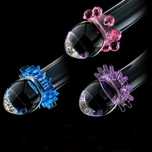 5pcs/set silicone cock ring delay premature ejaculation condom cock ring lock to set a new sex shop products for men party small gift