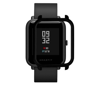 Image 5 - 4in1 for Xiaomi Huami Amazfit Bip Strap wristband Nylon Loop Smartwatch Bracelet amazfit bip Case cover with Screen protector