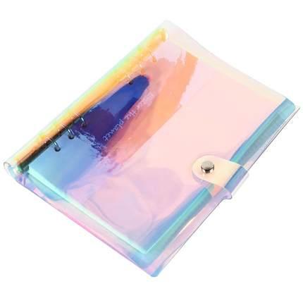 Notebook laser A5 A6 perancang penganjur buku pengikat buku sketsa - Pad nota dan buku nota - Foto 5