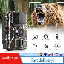 DL-100 GC1054 takip kamerası avcılık tuzak gece görüş 12MP 1080P su geçirmez 2 inç LCD led'li Trail İzcilik hayvan gözetleme