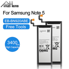 PINZHENG 3000mAh EB BN920ABE סוללה עבור Samsung Galaxy הערה 5 N9200 N920T N920C Note5 SM N9208 החלפת טלפון נייד סוללה