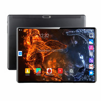 Global Version Free shipping 10 inch Tablet PC 8 Core 6GB RAM 128GB ROM 4G LTE Android 9.0 WiFi 1920*1200 IPS 2.5D Glass+Gifts