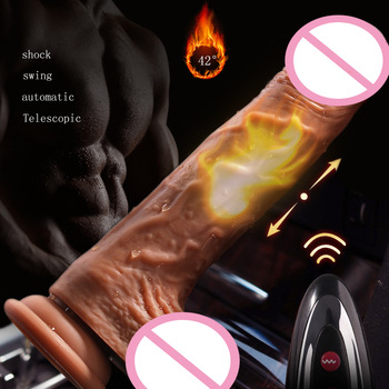 Powerful Thrusting Dildo Vibrator Realistic Dildos for Women Erotic Toy for Adult Big Penis Suction Cup Dildo Vibrators Sextoy 10 frequency soft silicone super large realistic dildo penis vibrator suction cup dildo vibrators sex toy for women masturbation