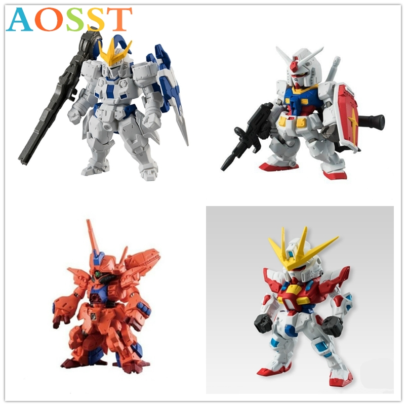 Genuine Kodak Assembly Model Q <font><b>BB</b></font> Warrior Hg Garage Kit Action Figures Mobile Suit Blazing Angel <font><b>Gundam</b></font> Model Assemble Toys image