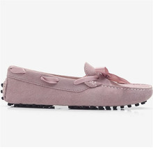 New Style Shoes Women 2021 Shoes Women 100% Genuine Leather Women Flat Shoes Casual Loafers Moccasins Lady Driving Shoes