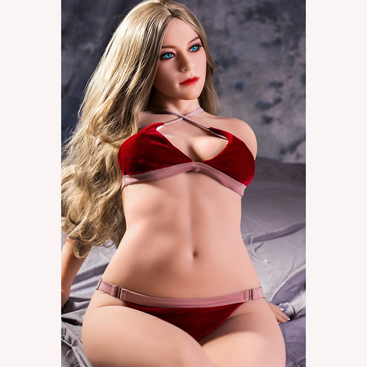 158cm Realistic Solid Silicone <font><b>Sex</b></font> <font><b>Doll</b></font> <font><b>100</b></font> <font><b>cm</b></font> with Metal Skeleton for Men Masturbation Full Size Love <font><b>Doll</b></font> Free shipping image