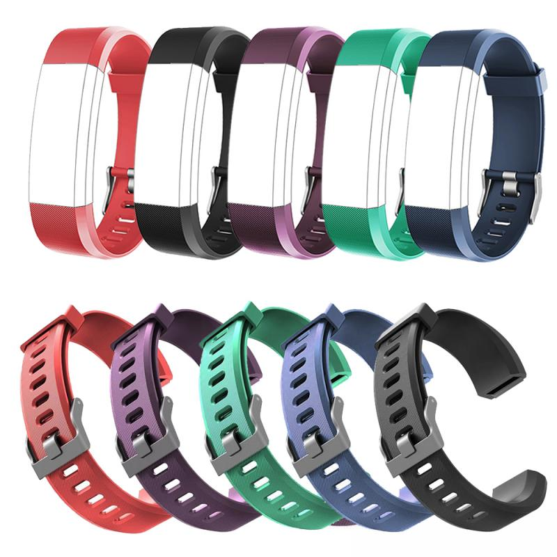 Silicone Watch Strap ForID115 Plus Series Replacement Wrist Strap Band High Watch Strap Bracele Accessories For ID115 Plus