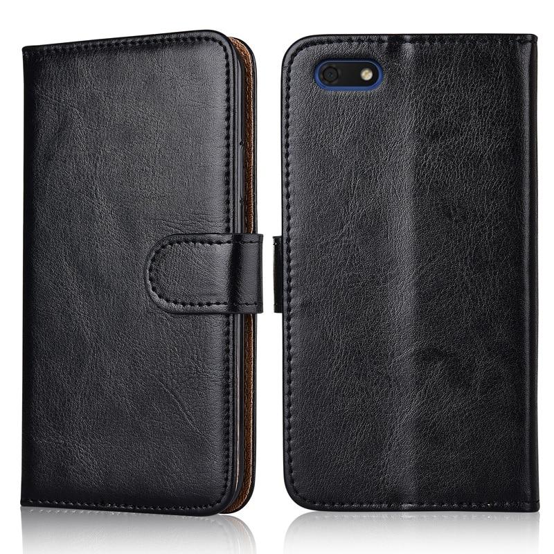 Кожаный чехол-книжка для Huawei Honor 7A 7 A 5,45 дюйма