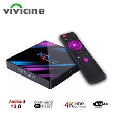 IPTV 4K Smart-Tv-Box Netflix Android 10.0 Google Play Option Youtube Wireless for H96-Max