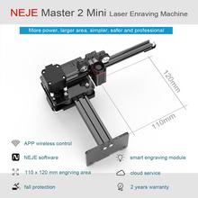 NEJE Master 2 10W Mini Laser Engraver and Cutter Laser Engraving Machine with Wireless APP Control Roll Protection