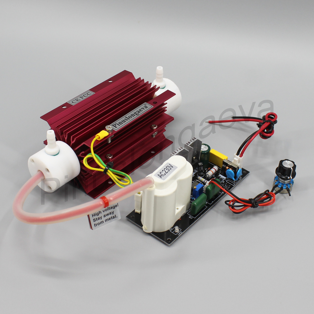 Pinuslongaeva 5G/H 5grams Quartz tube type ozone generator Kit for home air condition air purify 5g ozone generator air purifier