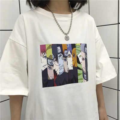 Zsiibo ナルト半袖 tシャツ男性の潮ブランド学生カップルカスタム服女性ドロップシッピングビーガンスリーブ
