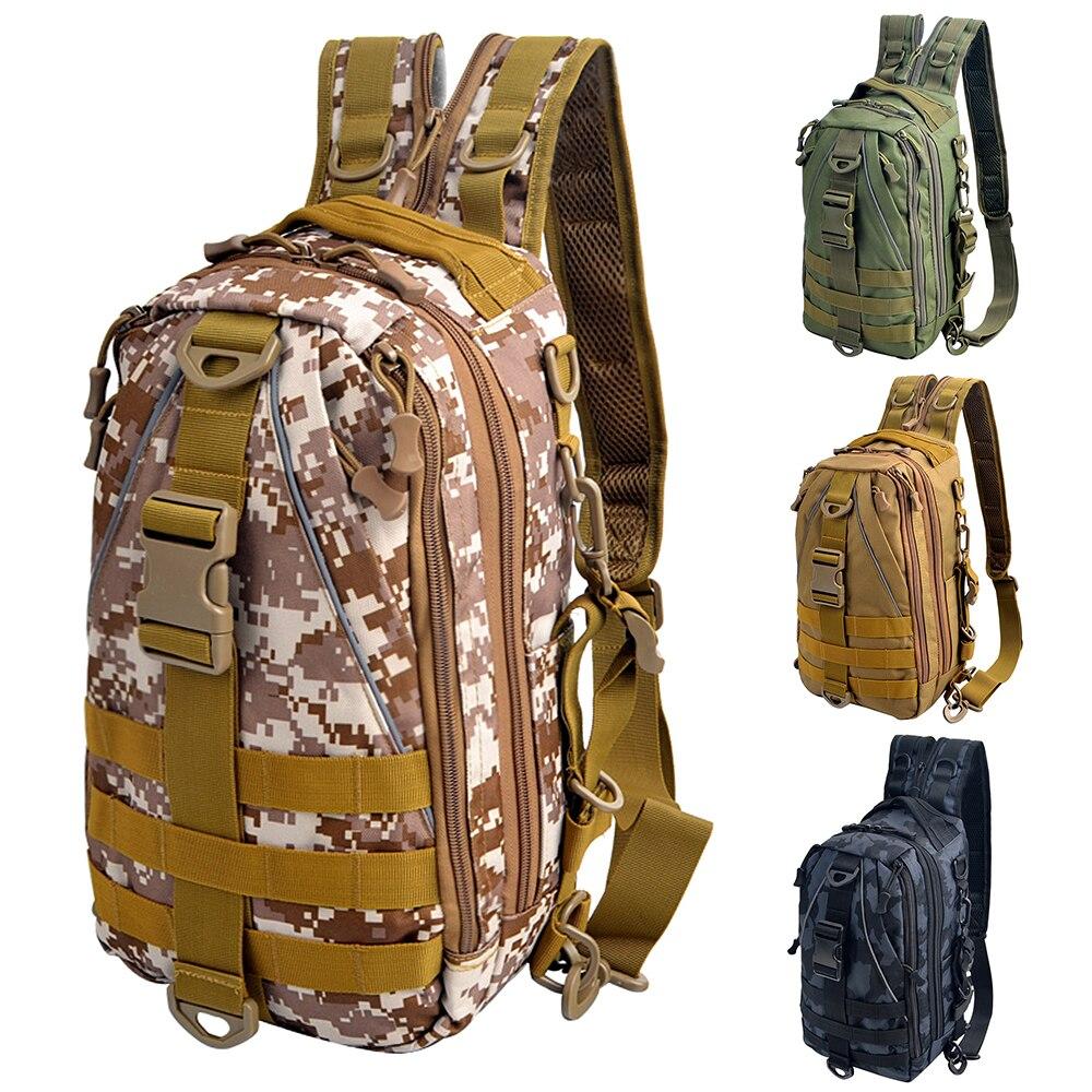 Универсальный Тактический Слинг-рюкзак, сумка через плечо, рюкзак для рыбалки на открытом воздухе, походов, скалолазания