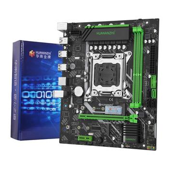 HUANANZHI X79 6M PLUS motherboard with dual M.2 SSD slot computer DIY CPU Xeon E5 2670/2660/2640 with cooler RAM 16G(2*8g) RECC 2