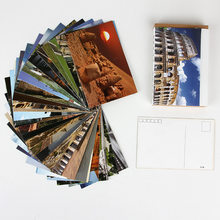30 листов/набор путешествия по всему миру Lomo карты мини Открытка/поздравительная открытка/подарок на день рождения