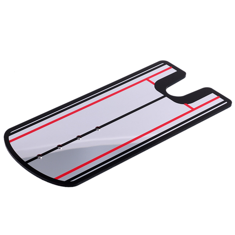 New Design Golf Putting Mirror Alignment Training Aid Swing Trainer Eye Line
