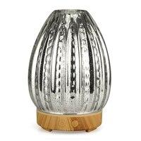 3d led night light vaso de vidro umidificador ar forma aroma difusor do óleo essencial névoa criador umidificador ultra sônico presente eua plug|Umidificadores| |  -
