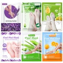 6pair Exfoliating Foot Mask Moisturizing Foot Patches Heel Peeling Socks Pedicure Whitening Feet Peel Mask Remove Calluses Dead