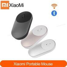 원래 Xiaomi 미 마우스 휴대용 광학 무선 블루투스 마우스 4.0 RF 2.4GHz 듀얼 모드 노트북 pc에 연결