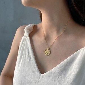 Image 5 - Louleur 925スターリングシルバー星座ネックレスペンダントゴールドエンボス干支ネックレス女性のためのシルバー925ジュエリーゴールド