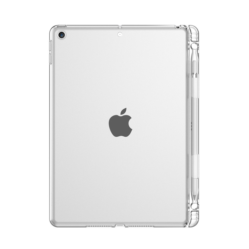 iPad 10.2 2020 Blue Clear Silicone Case For iPad 10 2 2020 Transparent TPU Silicone Tablet Cover Case For Apple