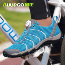 Mtb Shoes Road-Bike Women Ultralight Non-Locking AUUPGO Leisure Breathable Original New