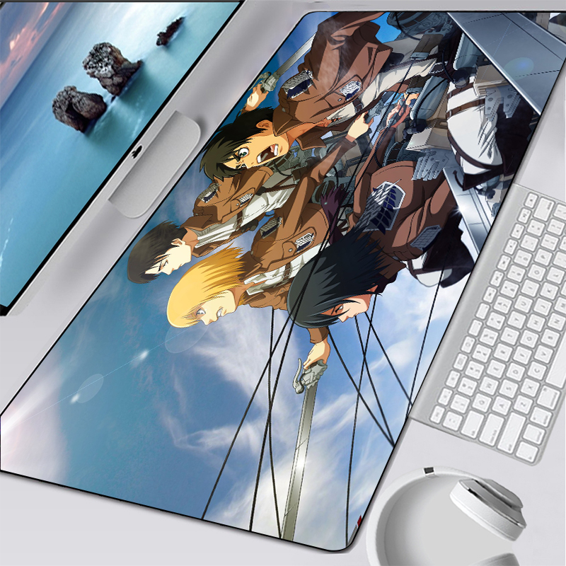 mouse pad anime gaming padmouse alta qualidade